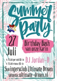 Summer Party Birthday Bash